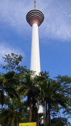 Full length KL Tower