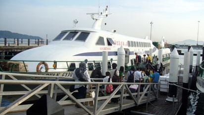 Kota Kinabalu to Labuan island boat