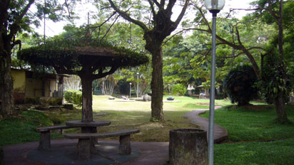 A small park in Bandar Seri Begawan