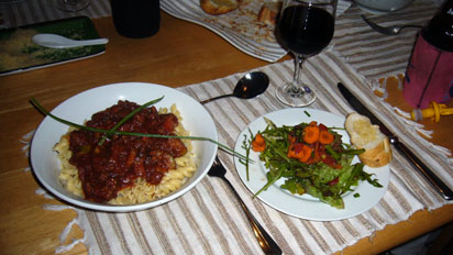 This is what happens when a Brit and a German attempt a Italian meal