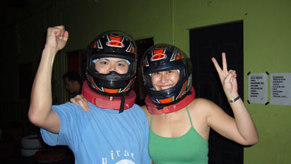 Ready for go-karting