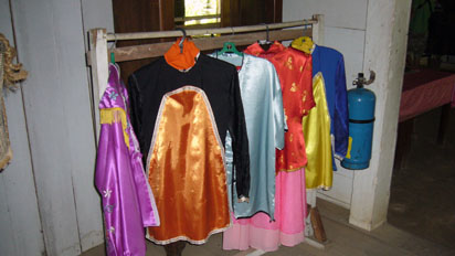 Chinese farmers wife's clothes