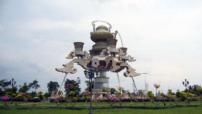 Kuala Belait teapot
