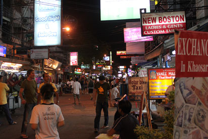 View of Khao San Road
