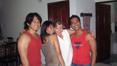 Sue likes Filipeno dancers