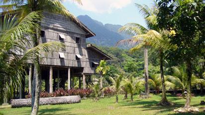Sarawak tall house