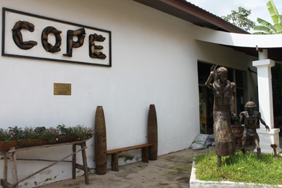 Entrance to COPE exhibition