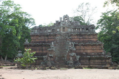 Elephant Temple in Angkor Thom area