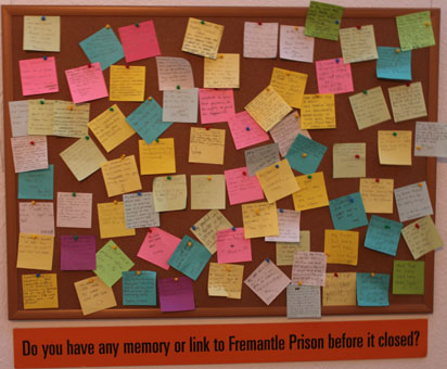 Memories of Fremantle Prison