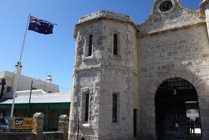 Entrance to Fremantle Prison