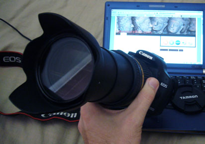 Tamron 18-270mm lens on Canon 500D