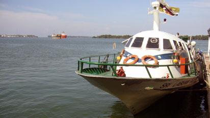 Boat to Labuan Island