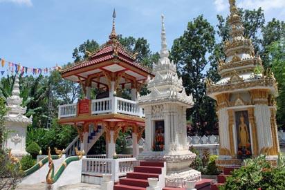 Gardens of Wat Si Saket