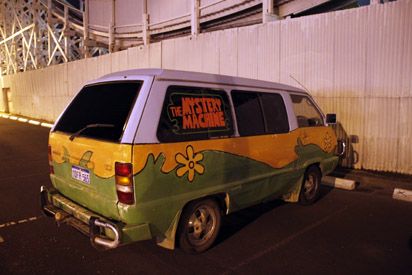mystery machine tinted