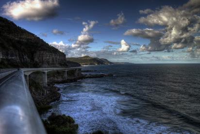 Road over Sea in Australia
