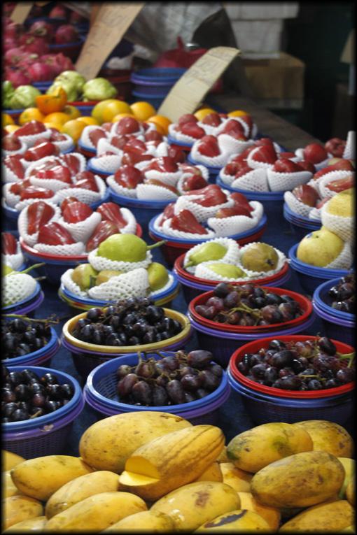 Malaysian fruit market
