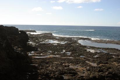 lava pool trial in kauai