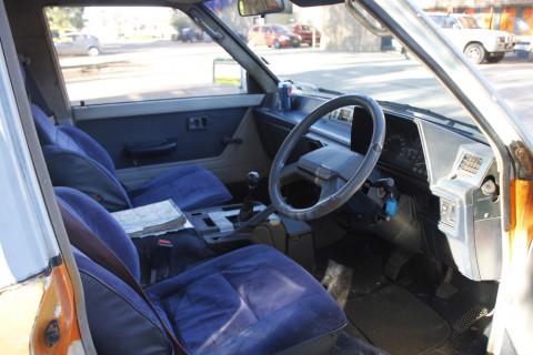 Toyota tarago 1985 interior