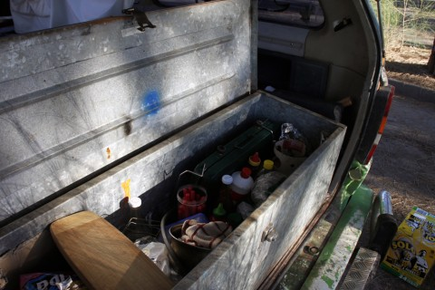 campervan storage for utensils