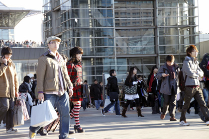 Comiket crowd