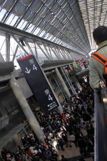 Crowd at Comiket Tokyo