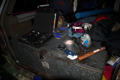 campervan tools