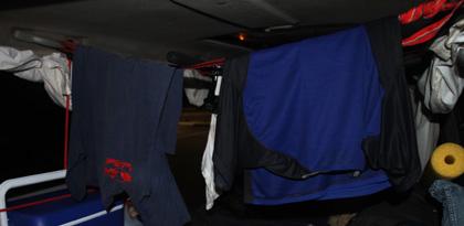 Campervan Laundry room