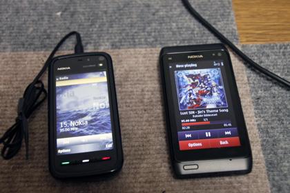 Nokia N8 radio transmit facility