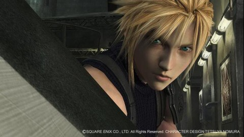 Cloud strife on PS3 final fantasy 7