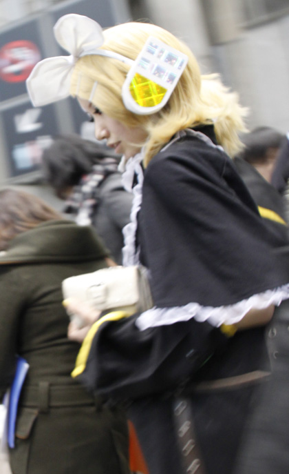 cosplayer at comiket