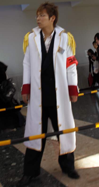 Comiket security guard cosplay