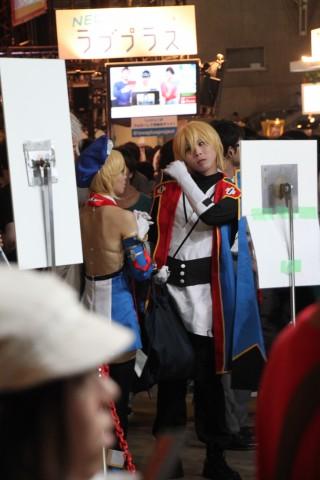 Blazblue Jin Noel Cosplay at Tokyo Game Show