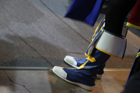 Jin Kisarage cosplay footwear TGS