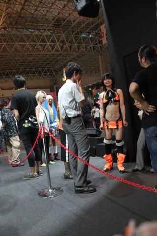 Makoto Nanaya blazblue cosplay Tokyo game show
