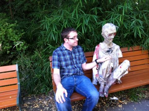 AdventureRob with zombie