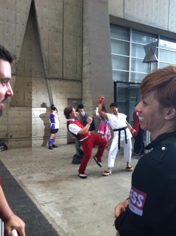 Ryu cosplay at TGS