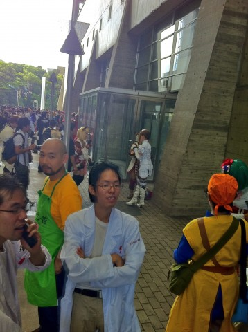 cosplay at Tokyo game show 2011