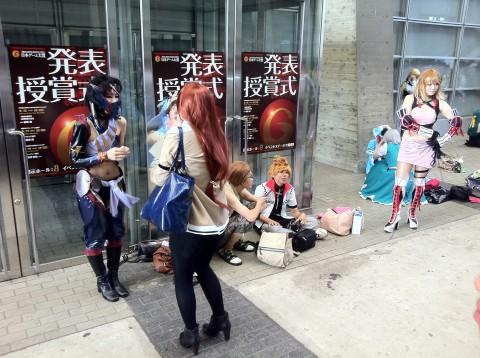 cosplay at TGS 2011
