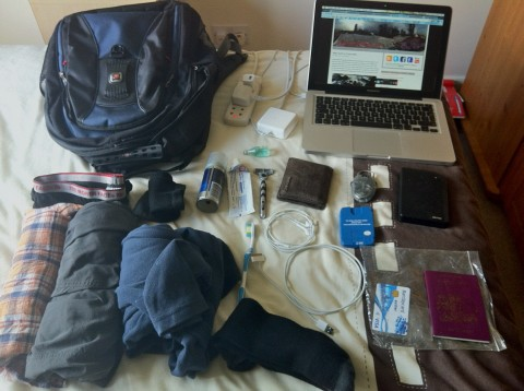 Essential travel gear