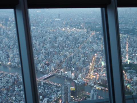 skytree tower view