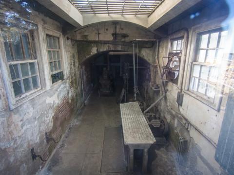 Alcatraz mortuary