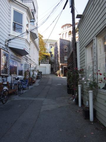 Sausilito backstreet